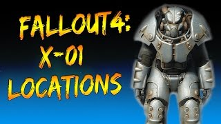 Fallout 4: X-01 Power Armor locations