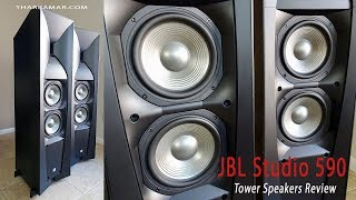 JBL Studio 590 Tower Speakers Review