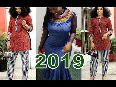 2019 African Fashion Collection : Best of Best Ankara And Aso Ebi Design for African Ladies