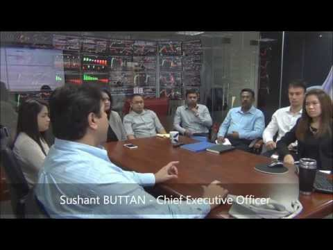 Visite de la Salle des Marchés de Professional Traders à Dubaï avec Shoaib QURESHI