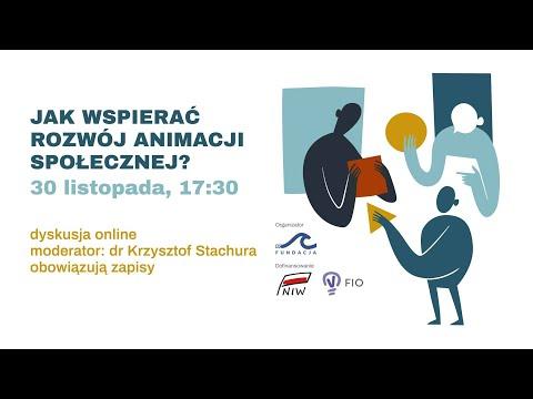 """""""Jak wspierać rozwój animacji społecznej?"""" – panel dyskusyjny z dnia 30.11.2020r."""