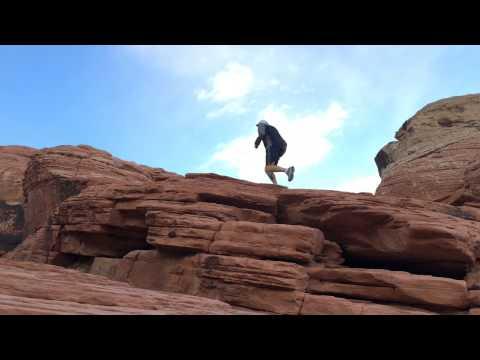 Dirk Whitebreast | Red Rock Canyon Trail Run | Clark Co., Nevada | May 15, 2015 (Clip)