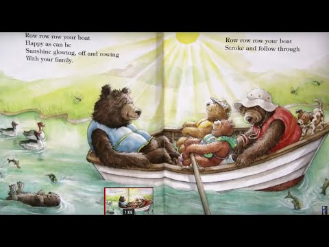 Row, Row, Row Your Boat Children's Nursery Rhyme Song | Iza Trapani's Book Version | Patty Shukla