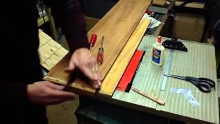 1985 Bianca Aphrodite 101 Restore Part 5 - Drop-leaf Table Repair Glueup