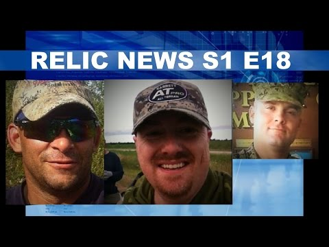 RELIC NEWS Arctic Diggers, Relic Rescue Crew, Micheal J Boyles Metal Detecting North America