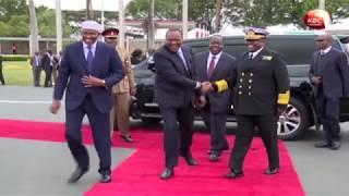 President Kenyatta in Addis Ababa for IGAD meeting