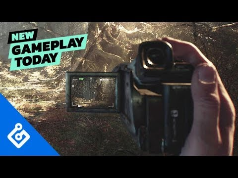 New Gameplay Today – Blair Witch