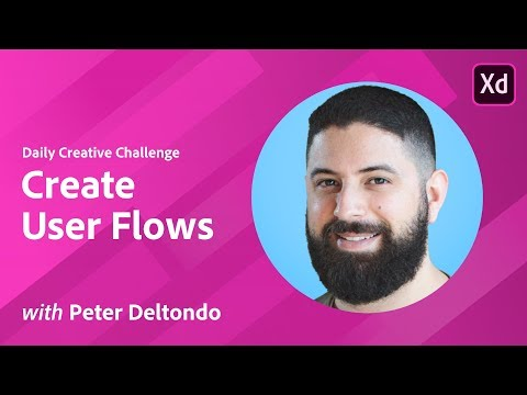 Adobe XD Daily Creative Challenge #07 - Create User Flows