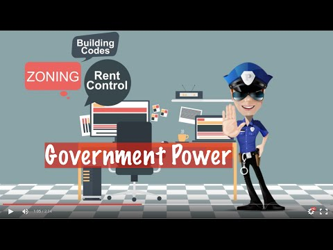 Real Estate Exam Essentials - GOVERNMENT POWER