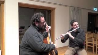 Hermeto Pascoal - Chorinho pra Ele - Duo Tramanduá - Vincens Faria - Flute Guitar