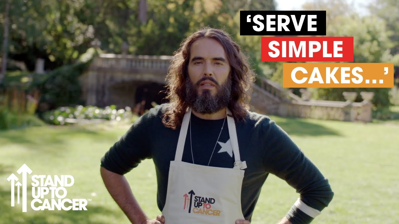 Russell Brand & Co Share Their Baking Tips | Celebrity ...