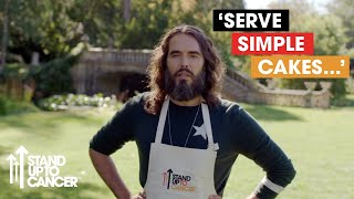 Russell Brand & Co Share Their Baking Tips    Celebrity Bake Off for SU2C (2019)