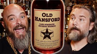 Old Hansford Cask Strength Bourbon Whiskey Review