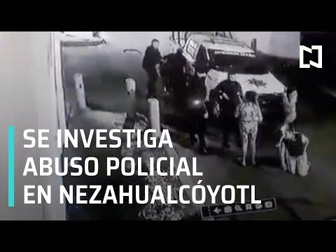 Policías detienen a mujeres en Nezahualcóyotl | Abuso de autoridad en Nezahualcóyotl - En Punto
