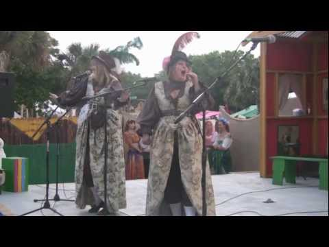 "Iris and Rose ~ ""Bang Away"" ~ Bawdy Comedy Song ~ 2011 Florida Renaissance Festival"