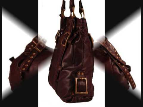 Shoppurse Argentine Leather Handbags.wmv