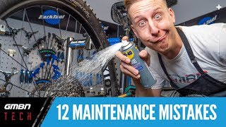 12 Common Bike Maintenance Mistakes And How To Avoid Them