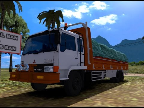 ETS 2 | Mitsubishi Fuso 6 x 4 Cargo Logistik 25 Ton Off Road Kotabaru - Pedalaman