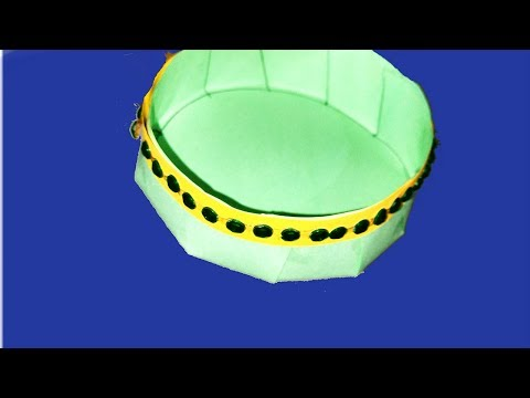 How  To Make Paper Bowl  ! Origami Paper Bowl Step By Step