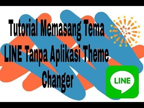 Tutorial Cara Mengganti Tema LINE Tanpa Menggunakan Aplikasi Theme Changer (Cara Manual)