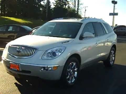 2008 buick enclave cxl awd diamond white art gamblin motors v2124