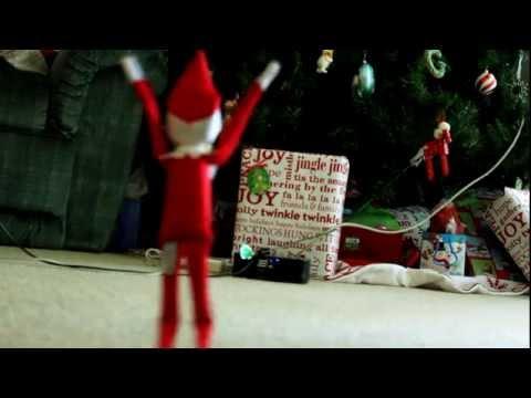 Elf On A Shelf Caught On Tape Youtube