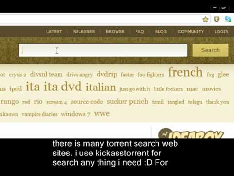 How To Download Movies Using Bit torrent. - YouTube