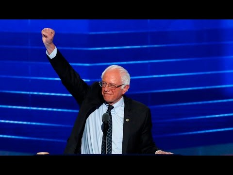 Watch Sen. Bernie Sanders' full speech at the 2016 Democratic National Convention