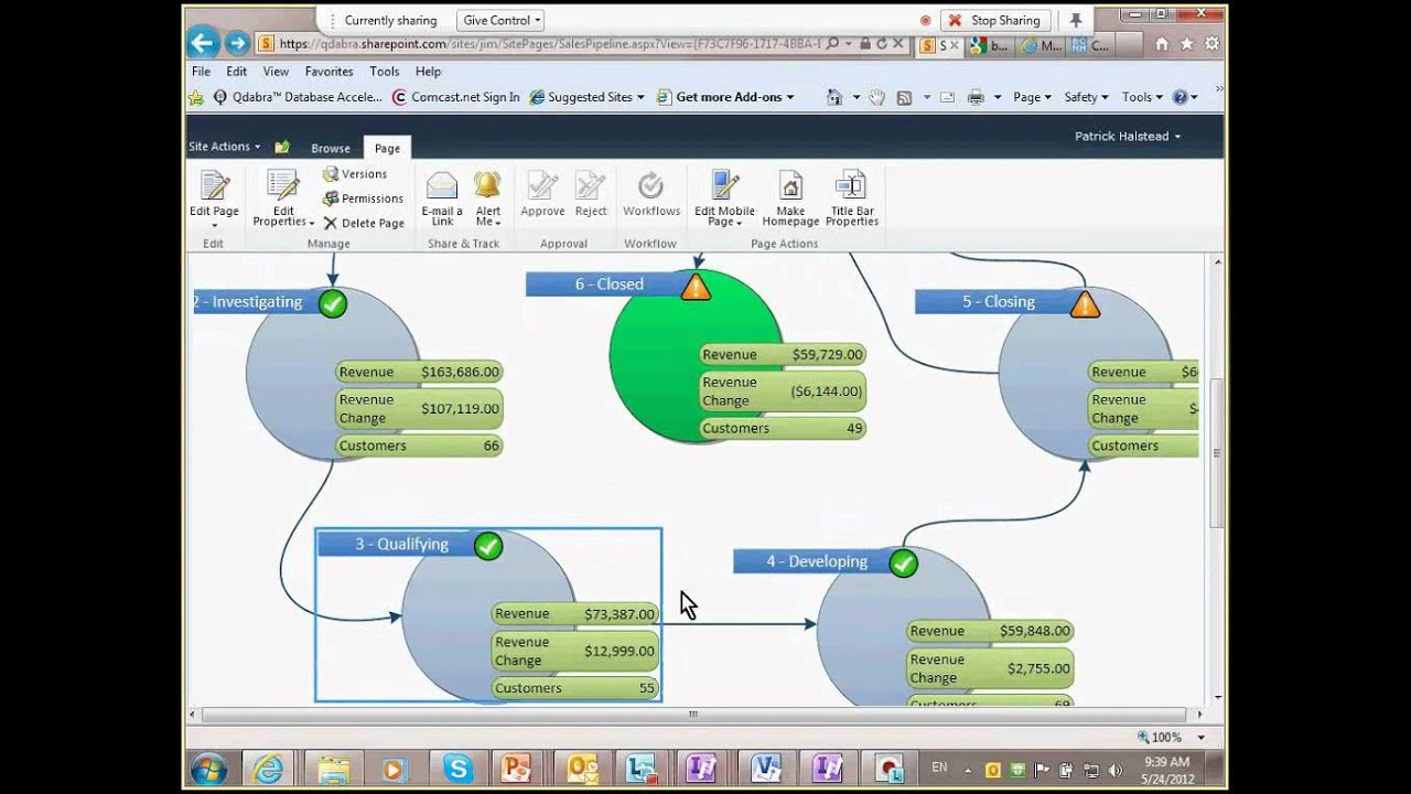 Create a visio dashboard to visualize your business processes may create a visio dashboard to visualize your business processes may 24 2012 webinar youtube friedricerecipe Images