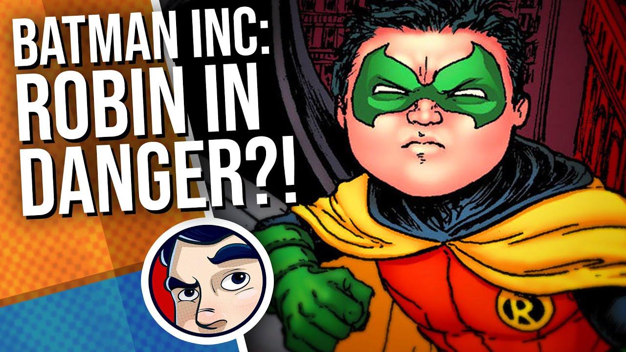 "Batman Inc ""Death Of Robin(Damian)(2011)"" - Complete Story #8 | Comicstorian"