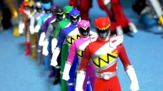10 Dino toys - Power Rangers Dino Charge kyoryuger toys