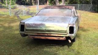 1967 Ford Galaxie 500 LTD Restoration ( idle video
