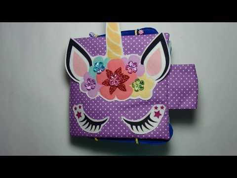 Развивающая книга с единорогами для девочки из Москвы