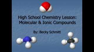 EDUC 331 Chemistry Lesson Plan