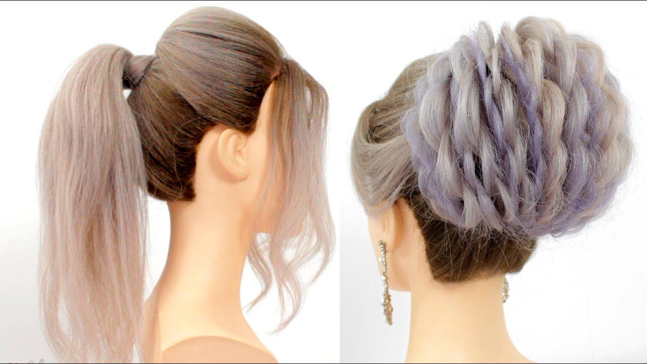 Medium length hairstyles    Cute easy hairstyles for medium&long hair     Easy hairstyles