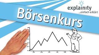 Börsenkurs einfach erklärt (explainity® Erklärvideo)