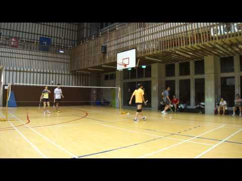 20130825孚瑪FUMA Badminton XD小慧+耀文VS舒羽+黃銘正