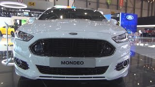 Ford Mondeo ST-Line AWD (2018) Exterior and Interior