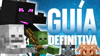 MOBS HOSTILES LA GUÍA DEFINITIVA | Tutoriales Minecraft