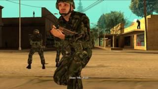 GTA San Andreas - DYOM Series - Montgomery War
