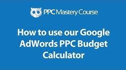 PPC Budget Calculator