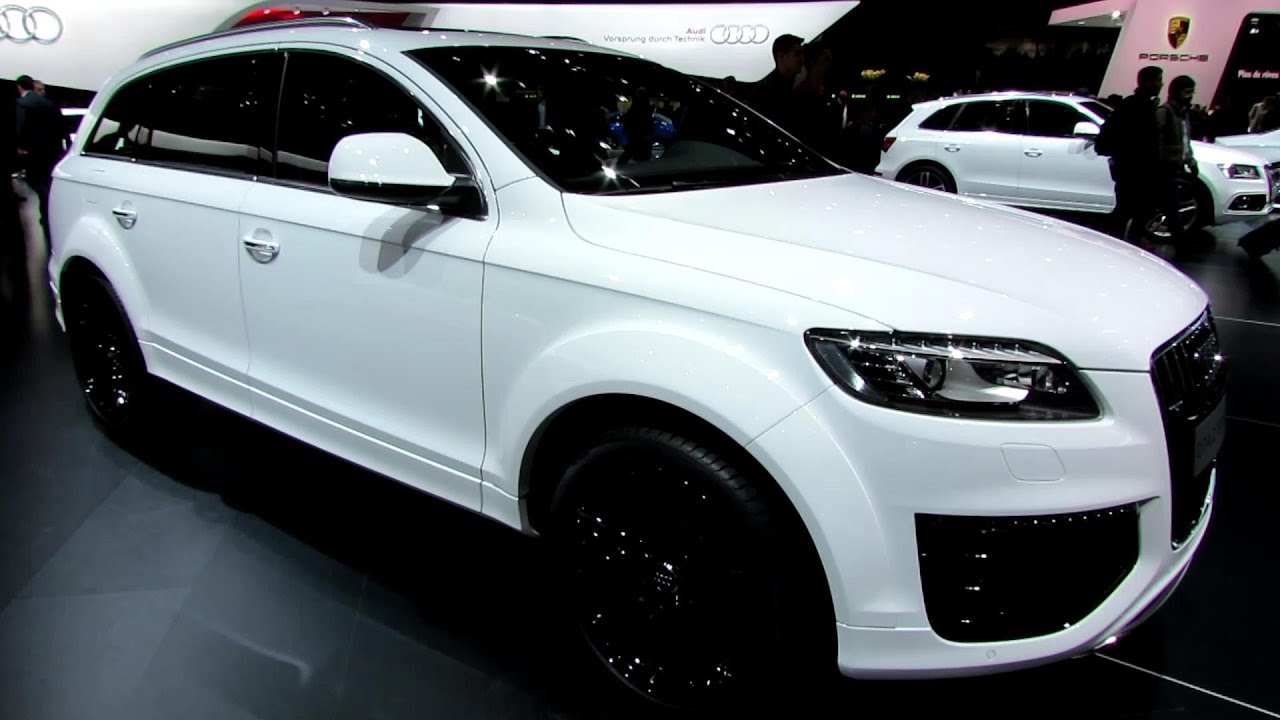 2014 Audi Q7 TDI Quattro   Exterior And Interior Walkaround   2014 Geneva  Motor Show   YouTube