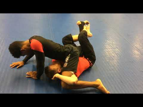Lockdown Electric Chair Sweep and Submission