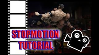 WWE STOP MOTION TUTORIAL! How to animate with WWE Figures