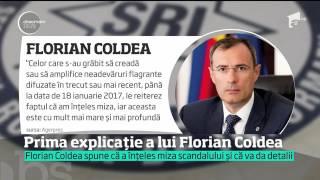 Generalul SRI Florian Coldea şi-a explicat gestul retragerii într-o declaraţie de presă