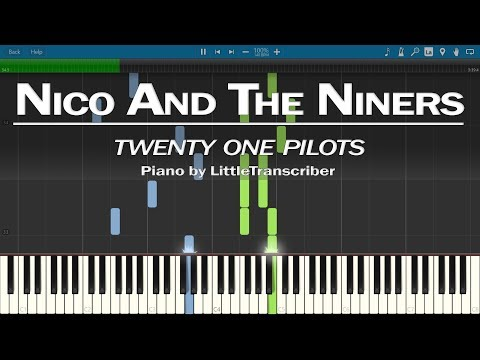 twenty one pilots - Nico And The Niners (Piano Cover) Synthesia Tutorial by LittleTranscriber