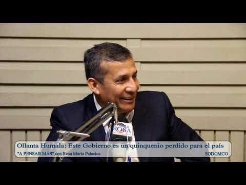 Ollanta Humala: Este Gobierno es un quinquenio perdido para el país