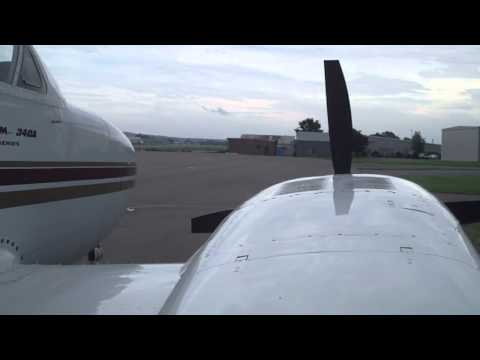 Cessna 340 Walk Around Shut Down and Start Up | N6311X | Osceola Wisconsin