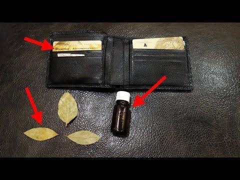 Вопрос: Зачем люди носят лавровый лист в кошельке?