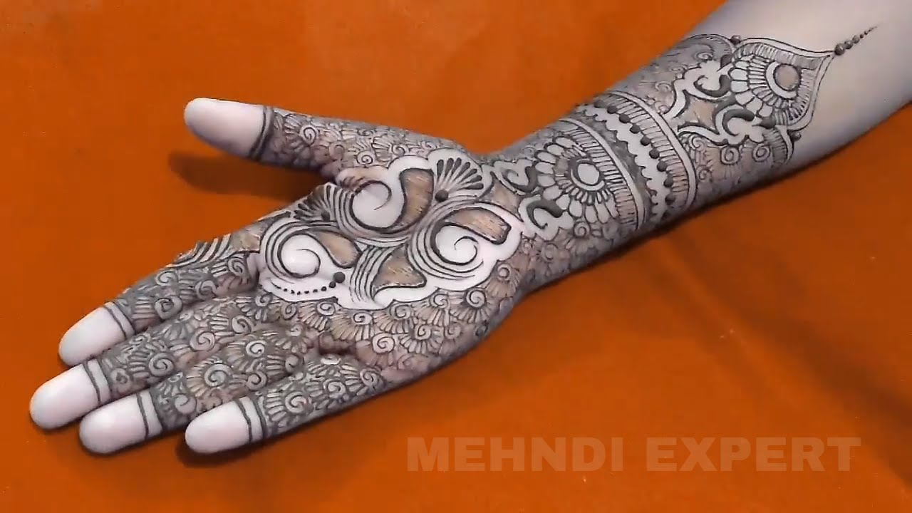Mehndi Henna Buy : New full hand bridal dulhan mehndi or henna tutorial ☆ step by
